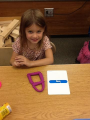 Play-doh letter focus
