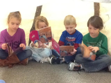 Reading Groups in our teepee